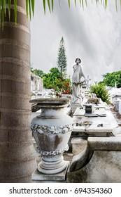 Cristobal Colon cemetary in Havana, Cuba. July 2017