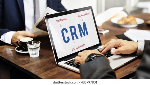 CRM Business Company Strategy Marketing Concept