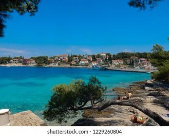Croatia, Brac - 08/15/2018 - Croatian Seaside