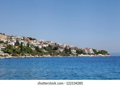 Croatia coastline.