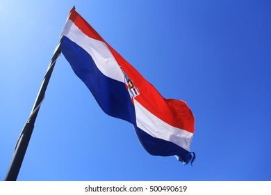 Croatia - Hrvatska national flag
