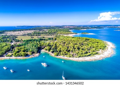 Croatia, Istria, aerial view of Cape Kamenjak
