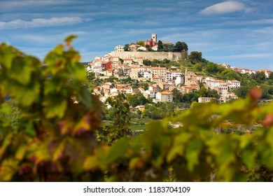 Croatia, Istria, view to Motovun