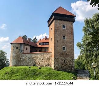 Croatia. Medieval Castle in Karlovac
