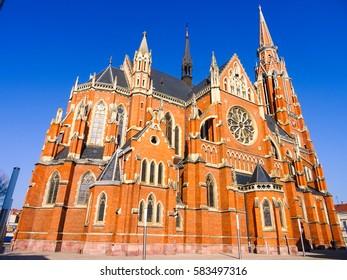 Croatia, Osijek, Church of St Peter and St Pau, City Cathedral