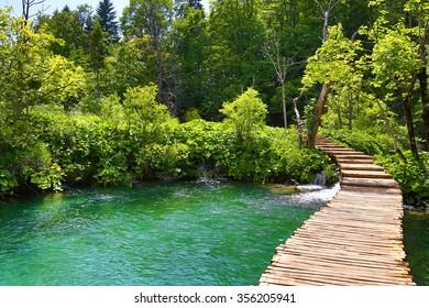Croatia Park Foot Bridge
