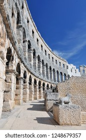 Croatia, Pula, The Pula Arena is the name of the amphitheatre located in Pula, Croatia.