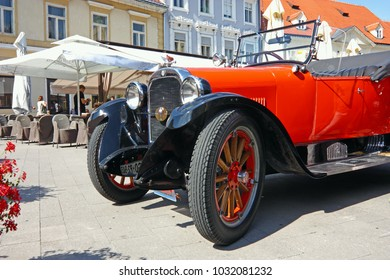 CROATIA SAMOBOR, 17 JULY 2011: Dodge Brothers Roadster classic car from 1924 , ''14. Oldtimer Rally'' in Samobor, Croatia