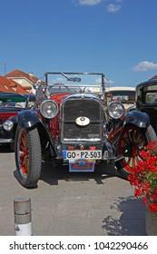 CROATIA SAMOBOR, 17 JULY 2011: Dodge Brothers Roadster classic car from 1924 , ''14. Oldtimer Rally'' in Samobor, Croatia