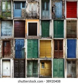 Croatian doors