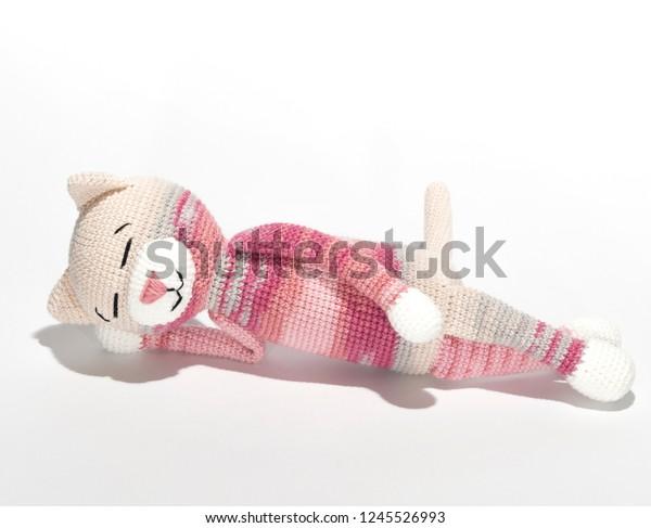 Big Amigurumi Cat Free Crochet Patterns   487x600