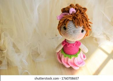 Crochet clown Doll Amigurumi Kids toys Circus Gifts ideas Home ... | 280x390