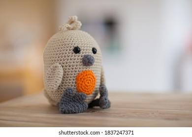 Crochet of a little bird