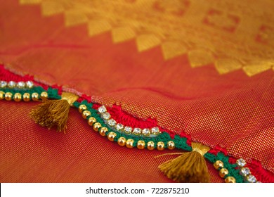Crochet, Tassel Fashion Designing works for clothing (Saree)