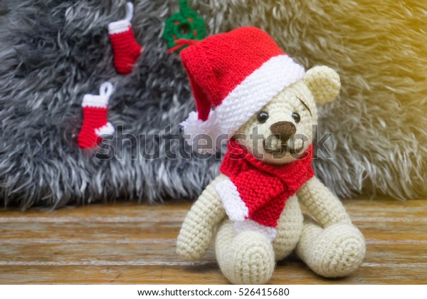 Christmas Cuddle Me Bear crochet pattern - Amigurumi Today | 420x600