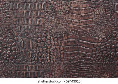 Crocodile leather texture