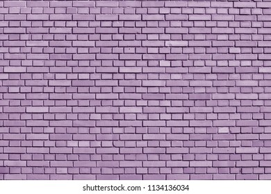 Crocus Petal colored brick wall background