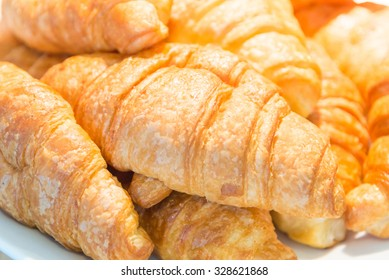 Croissants bread