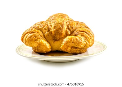 Croissants, isolate photo on white background