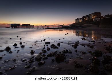 Cromer beach at Sunrise