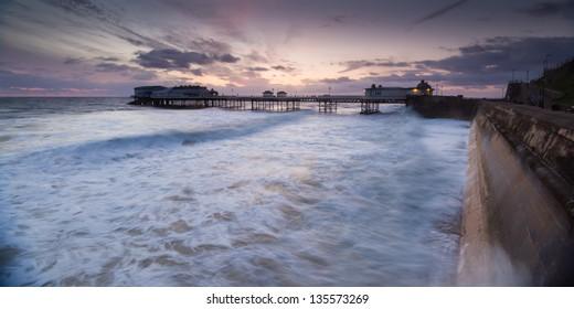 Cromer Seafront at sunrise