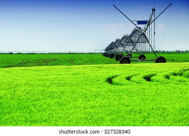 Crop Irrigation Images Stock Photos Amp Vectors Shutterstock