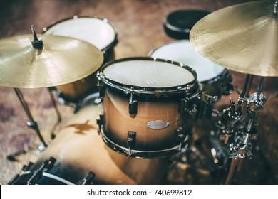 Framed Drum Stick Print Drummer Gift Drum Gear Rock Band Music Studio Wood Snare