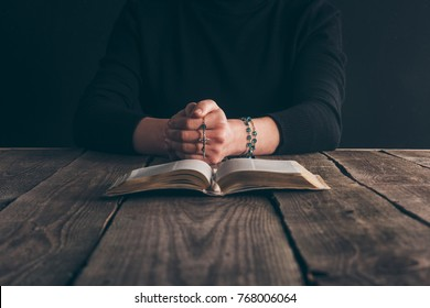 Bible Rosary Images, Stock Photos & Vectors | Shutterstock
