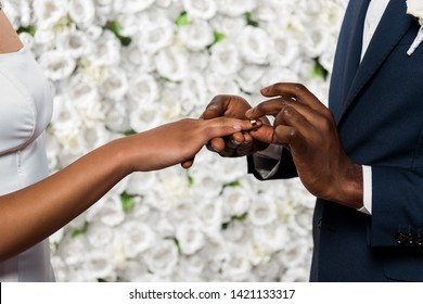 African American Marriage Proposal Images, Stock Photos