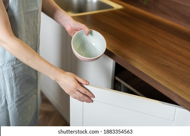 Cleaning Kitchen Cabinets Hd Stock Images Shutterstock