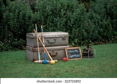 Croquet and Quoits games
