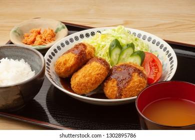 Croquette set meal