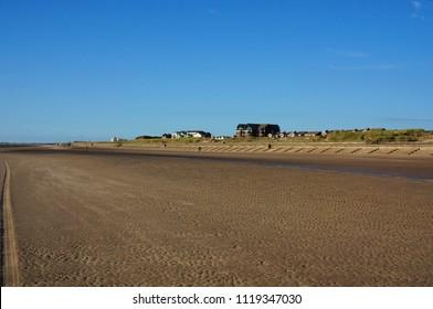 Crosby Beach Liverpool City Region, England, United Kingdom
