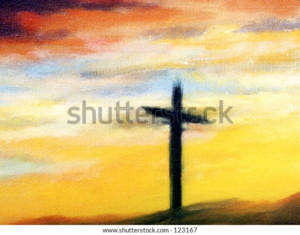 A Cross Background