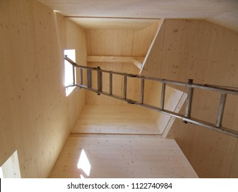 cross laminated timber construction, inside