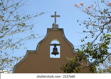 Cross on Chapel in Mexico