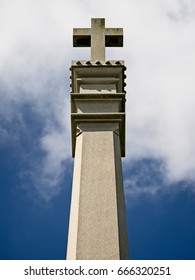 Cross on a Monument