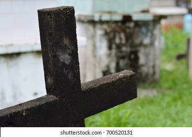 Cross photo for your graveyard projects or religion publications.