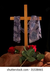 Cross and Roses