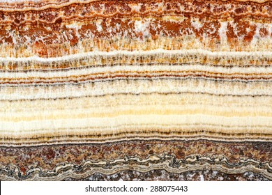 Cross Section of Stratum Sedimentary Layers