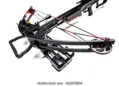 Crossbow isolated on white background