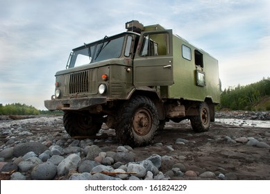 cross-country vehicle Ural, Russia