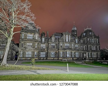Crossley Heath Grammer School in the early morning, Halifax, West Yorkshire, UK