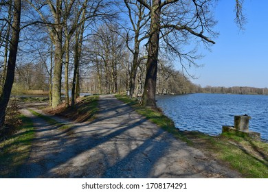 crossroads between the lakes South Bohemia, Czech Republic