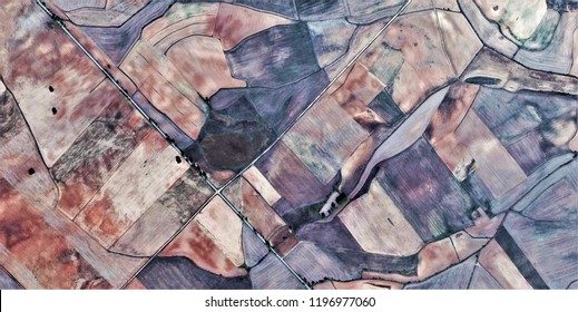crossroads, tribute to Picasso, abstract photography of the Spain, aerial view, representation of human labor camps, abstract, cubism, abstract naturalism,