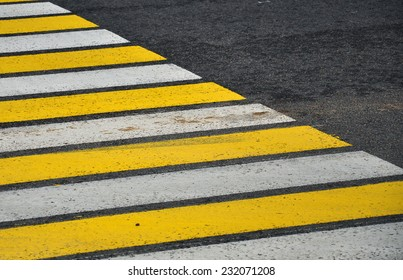 crosswalk asphalt