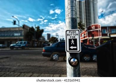 Crosswalk, button