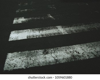 Crosswalk Fading Out