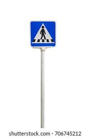 crosswalks field sign