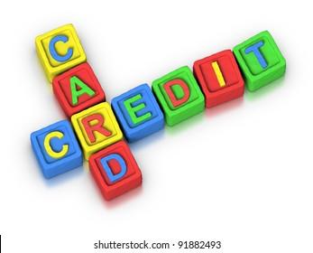 Crossword Puzzle : CREDIT CARD